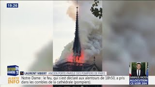 Les images impressionnantes de Notre-Dame de Paris en feu