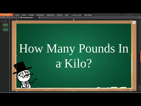 How Many Pounds In Kilo