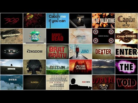 Graphic Design: Now In Production - Film & Television Titles