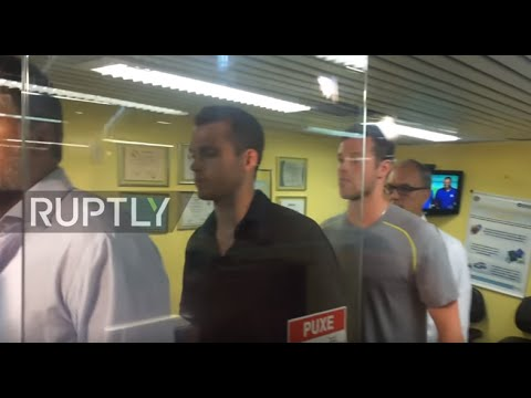 Brazil: US Olympic swimmers Bentz and Conger pulled off plane at Rio airport