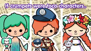 Crumpets As Toca Characters!ep.1toca lifetoca nadra