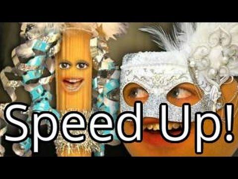 Annoying Orange - Lady Pasta (Speed Up!)