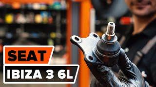 Kā un kad mainīt Lodbalsts SEAT IBIZA IV (6L1): video pamācības
