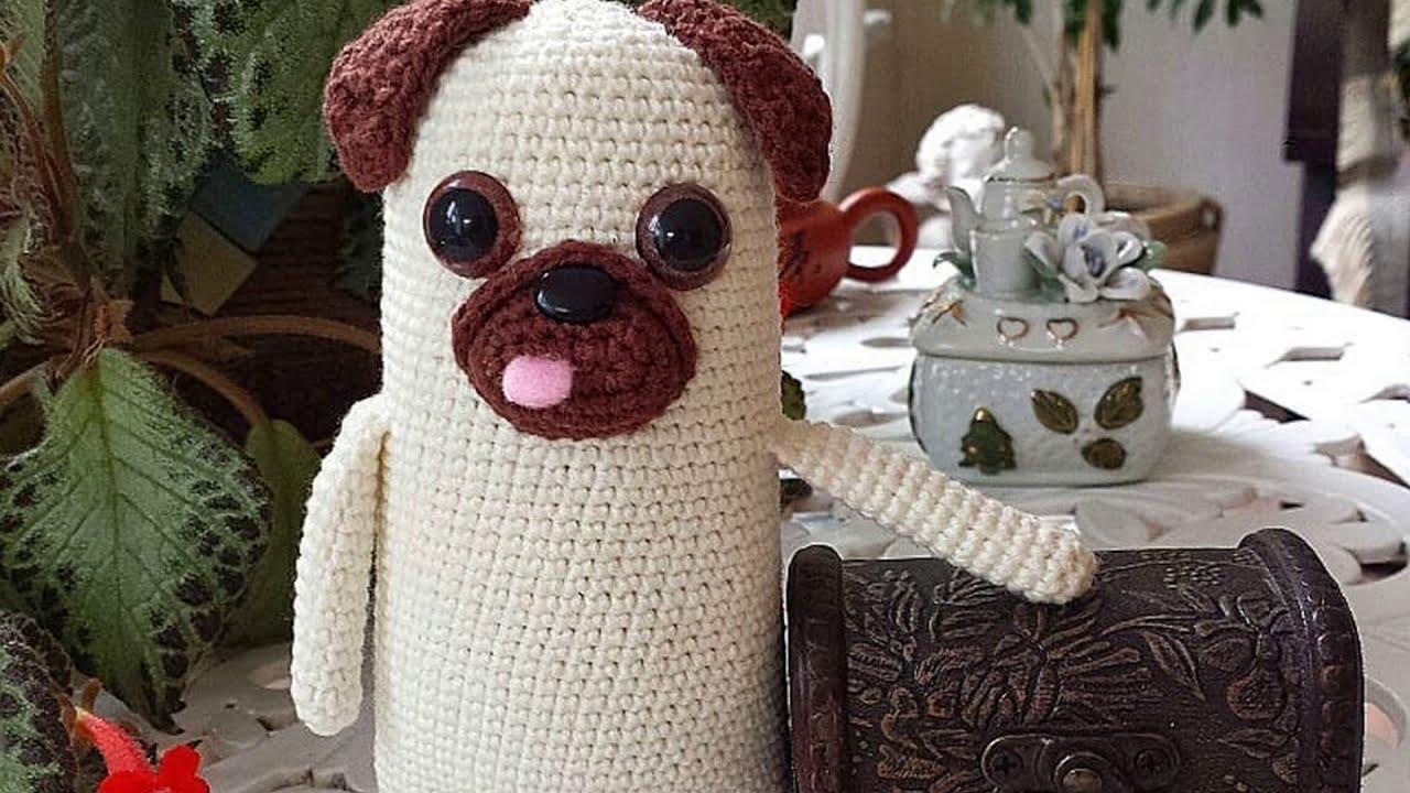 Mini Amigurumi Pug Free Crochet Pattern   móhu   720x1280