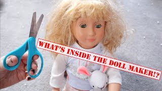 What's Inside The Doll Maker!? Cutting Open The Doll Maker!