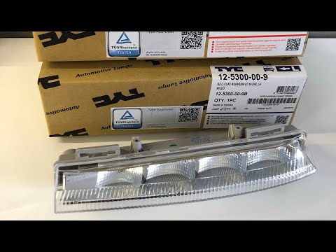 Mercedes W212 | How To – Remove & Install New DRL Light