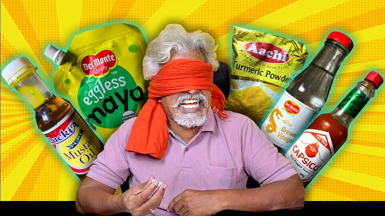 Blindfolded Guess The Food Challenge!! 😂 (HARD)