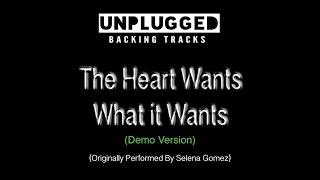 Selena Gomez - The Heart Wants What it Wants - Backing Track
