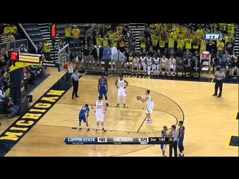 Austin Hatch scores at Michigan