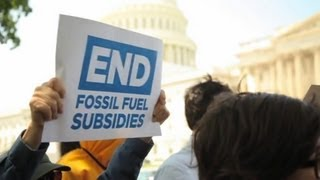 End Fossil Fuel Subsidies - Kickoff Rally in DC