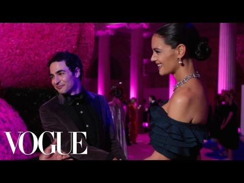Katie Holmes & Zac Posen on Why Sexy Is Passé | Vogue