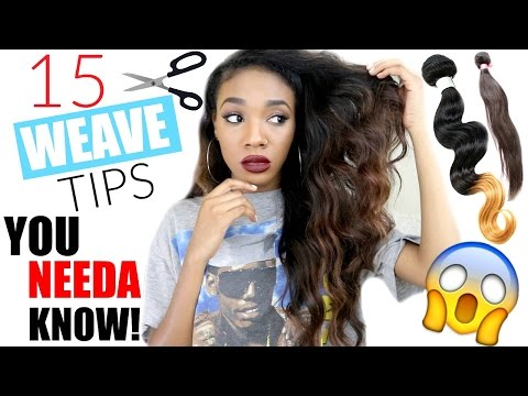 Weave Tips You Need To Know