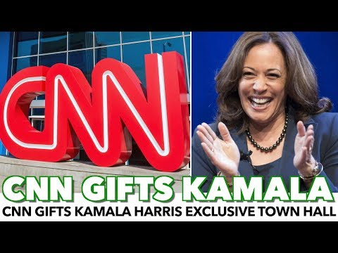 CNN Gifts Kamala Harris Exclusive Town Hall