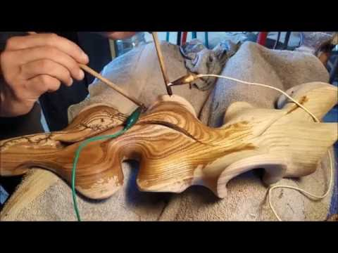 Wood Electrification (aka Lichtenberg figure)