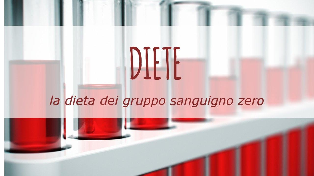 dieta gruppi sanguigni gruppo 0