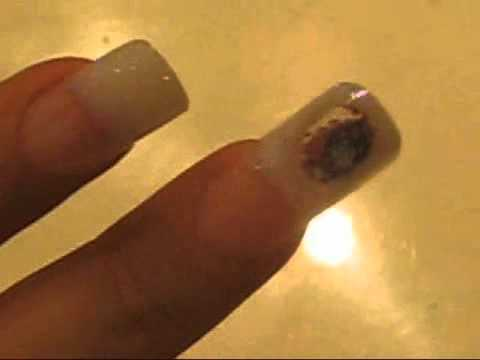 Water Bubble Nail By Cleve Torres Texas Usa Using Inverted Moulds