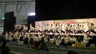 福井大学よっしゃこい2013年度演舞「夢光咲」 むこうへ 福井元気国...