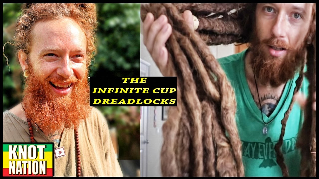The Infinite Cup Dreadlocks are FREEFORMED & BEAUTIFUL!