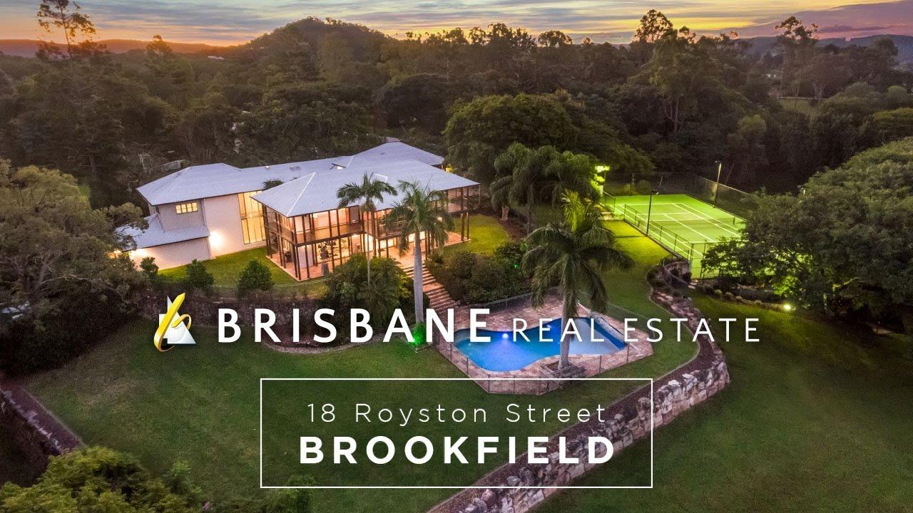 Brisbane Real Estate - 18 Royston Street | Brookfield - YouTube