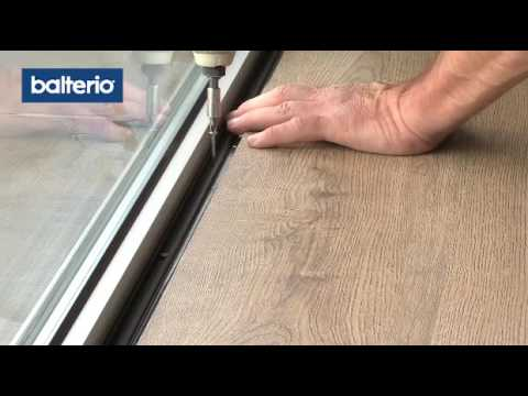 Balterio Laminate Flooring Fitting Mouldings End Pro Youtube