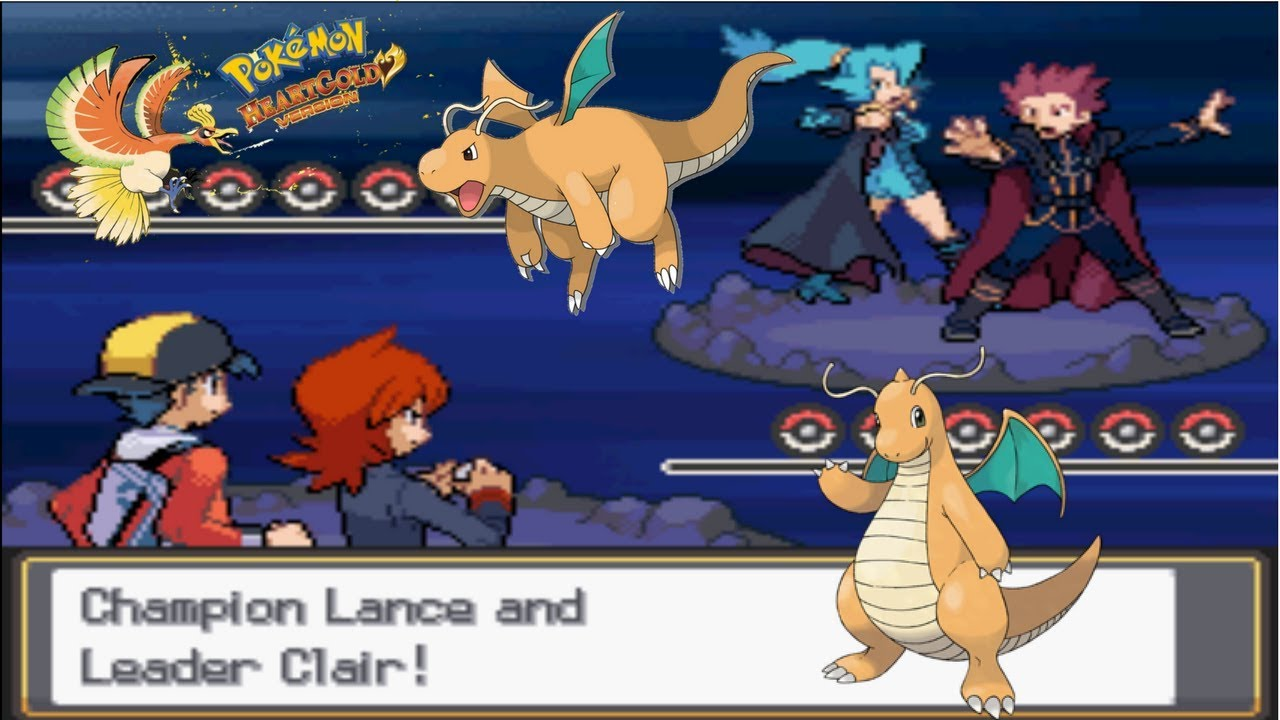 pokemon heart gold dragons den double battle