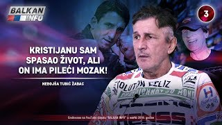 INTERVJU: Nebojša Tubić Žabac - Kristijanu sam spasao život, ali on ima pileći mozak! (17.3.2019)