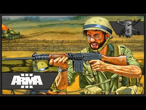 Yom Kippur War Urban CQB - ArmA 3 - IDF Infantry Gameplay 1440p60
