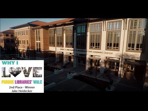 Why I Love Purdue Libraries' WALC: Jake Heidecker (2nd Place)
