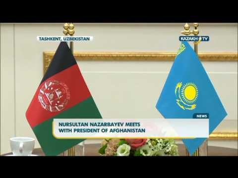 Nursultan Nazarbayev meets with president of Afghanistan - Kazakh TV