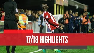 Match Highlights: AFC Wimbledon v Brentford