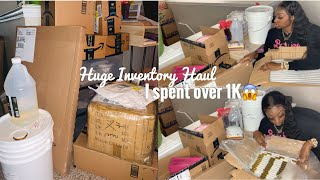 HUGE Inventory Haul | I spent over 1K on Inventory