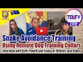 Snake Avoidance Training - How Do I Train My Dog? with Seth Pywell and Emma of Slithers and Slides
