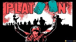 Platoon gameplay (PC Game, 1987)