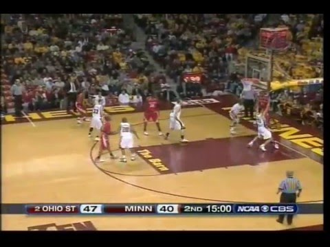 Ohio State Vs. Minnesota Basketball 2007