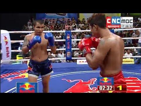 Ly Toeun vs Chhean Reaksmey, Khmer Boxing CNC 21 Oct 2017, Kun Khmer vs Muay Thai