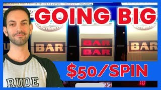 Going BIG before Going Home! ✦ HIGH LIMIT From my LAUGHLIN Trip! ✦ Brian Christopher Slots