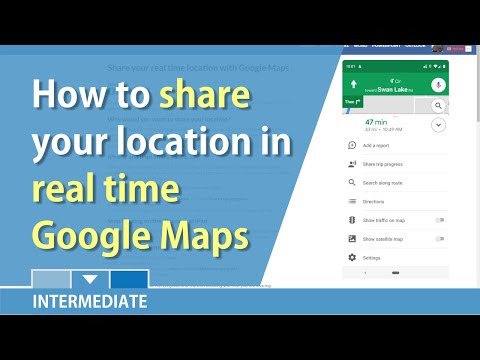 Google Maps: Share Your Real Time Location With Other By Chris Menard
