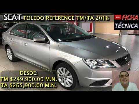 SEAT TOLEDO REFERENCE 2018 - FICHA TECNICA