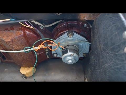 Волга Газ 24 - Печка Жарит. Как модифицировать печку на газ 24 волга