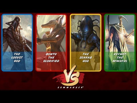 Commander VS S8E6: The Locust God vs Bontu vs The Scarab God vs Kefnet