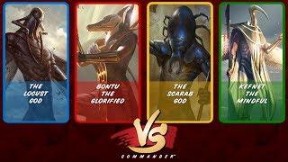 Commander VS S8E6: The Locust God vs Bontu vs The Scarab God vs Kefnet