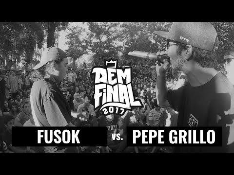 PEPE GRILLO vs. FUSOK: Semifinal - DEM Final Season 2017