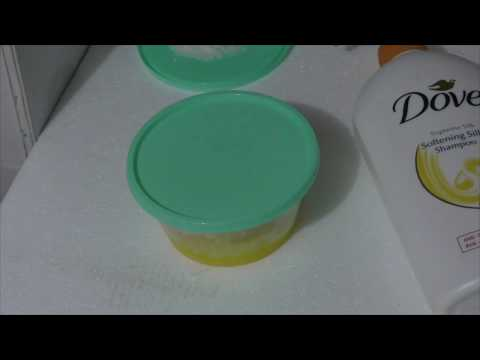 how to make slime without activator or wood glue / cara membuat slime tanpa slime activator