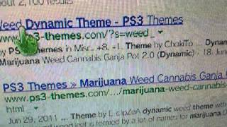 Ps3 weed theme how to get it 420