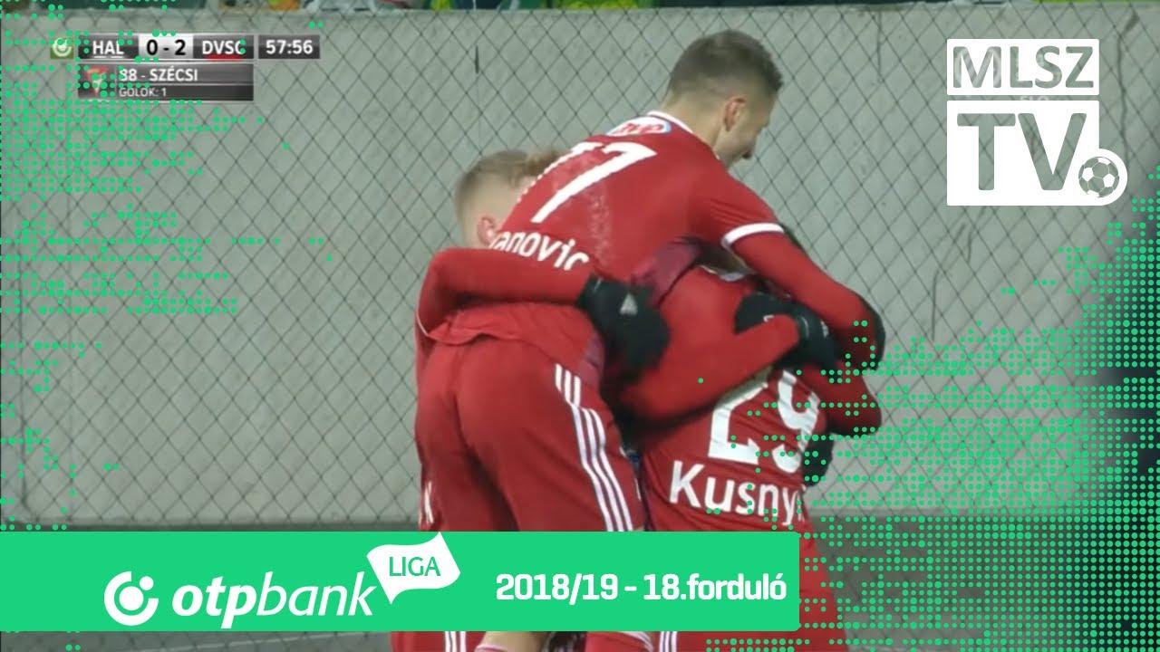 Szombathelyi Haladás – DVSC | 0-2 | (0-1) | OTP Bank Liga | 18. forduló | MLSZTV