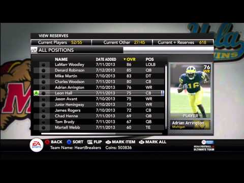 NCAA Football 14 Ultimate Team - Episode 16 - Andre Ware Heisman Collection DONE