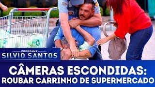 Roubar Carrinho de Supermercado Câmeras Escondidas 25 02 18