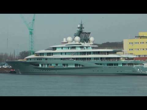 Megayacht (146 m) - (Project)  SHU at Lürssen Werft Bremen
