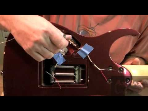 electric guitar restoration ibz rg 15 installing the ground circuit hot circuits youtube. Black Bedroom Furniture Sets. Home Design Ideas