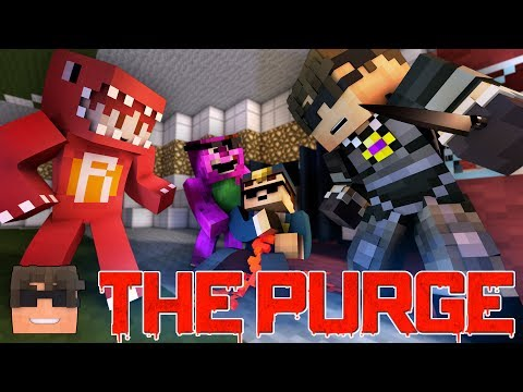 THE END?? Minecraft THE PURGE Roleplay | Episode 5